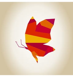 Abstract the butterfly2 vector image