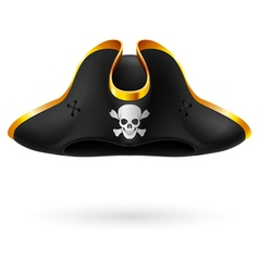 Pirate cocked hat vector