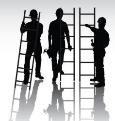workers set vector image