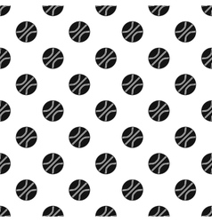 Basketball ball pattern simple style vector image vector image