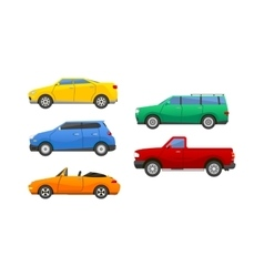 Car vechicle transport isolated on white vector image vector image