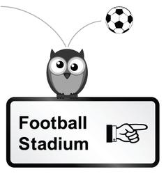 Football Stadium vector image vector image