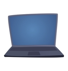 Modern laptop computer vector image vector image