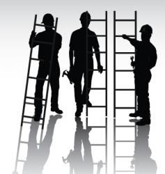 workers set vector image vector image