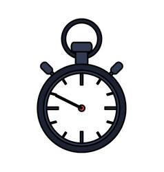 Analog chronometer icon image vector