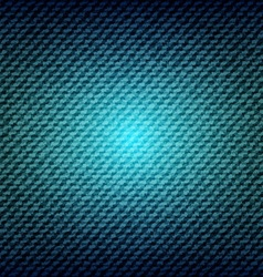 Blue jean denim texture background vector