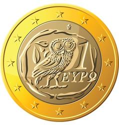 Greek money vector