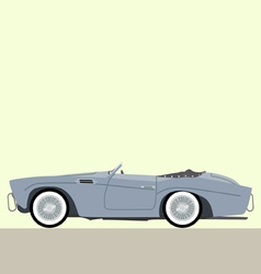 cabriolet classic car vector image