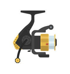 Fishing fixed-spool reel vector