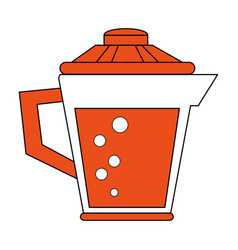juice jar isolated vector image