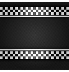 Metallic gray sheet vector