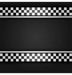 Metallic gray sheet vector image