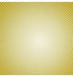 Halftone patterns dots on orange background vector