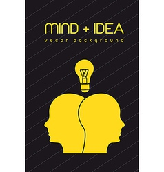 Mind and idea vector