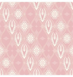 Seamless floral pattern in japanese style vector