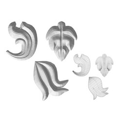 Carved decor 2 vector