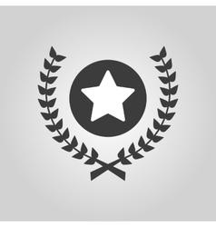 Award icon Priz symbol Flat vector image