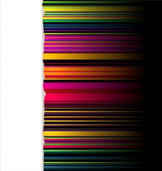 rainbow striped background vector image vector image