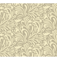 Seamless swirl pattern vector
