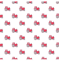 Tractor pattern seamless vector