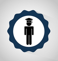 Graduation concept design vector