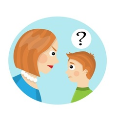 Conflict between mother and child vector