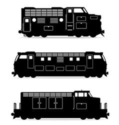 Set icons lokomotiv 02 vector