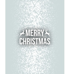Merry christmas retro design typography lettering vector