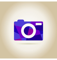Abstraction the camera vector image vector image