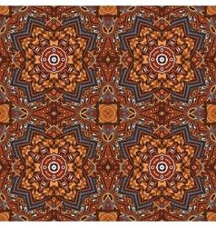 Seamless indian ethnic tribal geometric print vector