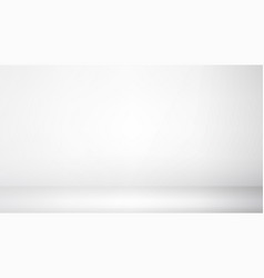 photo studio room empty white interior gallery vector image