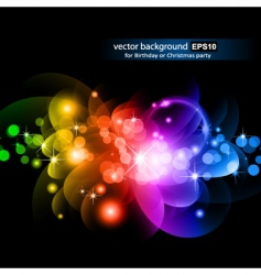 abstract rainbow design vector image vector image