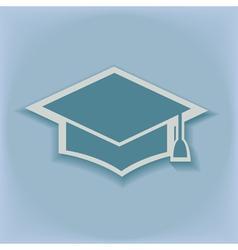 Education cap vector