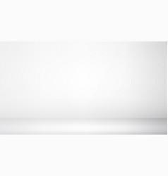 Photo studio room empty white interior gallery vector