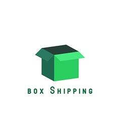 Free shipping delivery box block delivery agancy vector