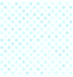 Cyan flower pattern seamless vector