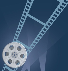 film tape camera vector image