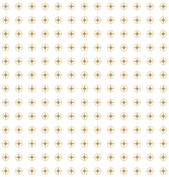 Golden retro pattern vector