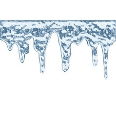 Icicles vector