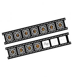 movie countner numbers vector image