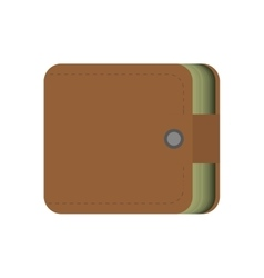 Wallet money cash currency safety vector
