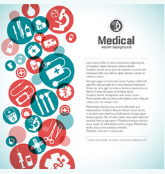 Healthcare background vector