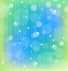 Colorful Bubbles Light Background vector image