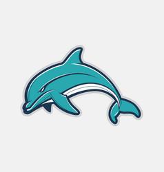 Dolphin cartoon vector