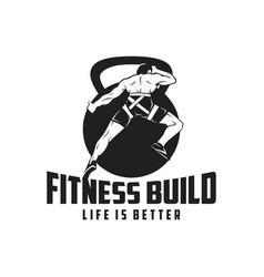 Fitness build vector