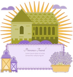 Invitation provence vector