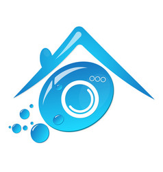 symbol for cleaning and laundry vector image