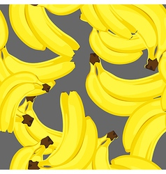 ripe bananas seamless vector image