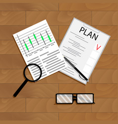 Economic planning vector