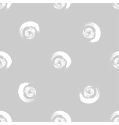 Grunge white circles on grey background vector